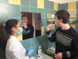 Escovagem de dentes